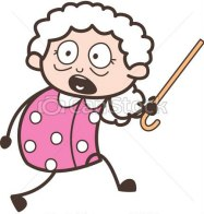 cartoon-scared-grandma-running-vector-image_csp49247571