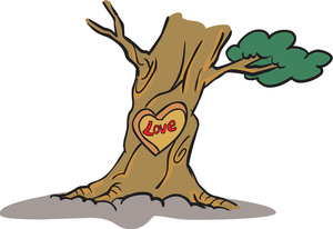 clipart_illustration_of_a_tree_with_a_love_heart_carving_0527-1511-2513-1554_SMU